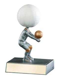 volleyball bobblehead trophies