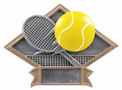 tennis trophies resin diamond
