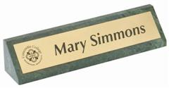 granite engraved desk name plate