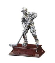 Resin hockey trophies