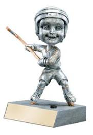 hockey bobblehead trophy