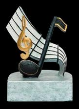 academic award music resin