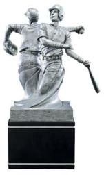 baseball trophy double resin