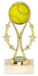 girls fastpitch softball trophy