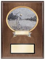 golf trophies plaque