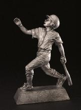 statue male youth baseball trophy