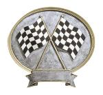 Racing Trophies acrylic award plaque