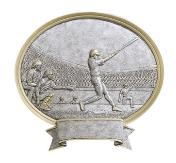 oval male youth baseball trophy