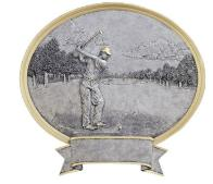 oval Golf Trophy