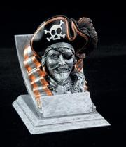 pirate school mascot trophy
