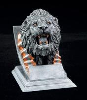 lion school mascot trophies
