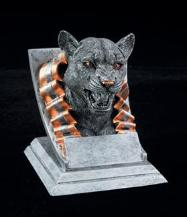 cougar school mascot trophies
