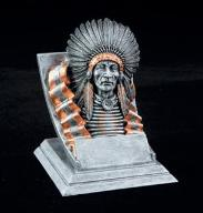 indian school mascot trophy