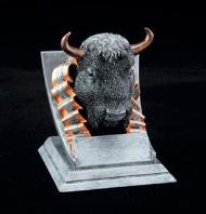 buffalo school mascot trophy