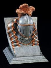 knight school mascot trophy