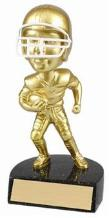 football trophy gold bobblehead