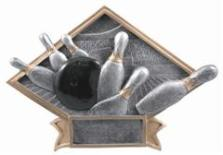 bowling trophies : diamond resin