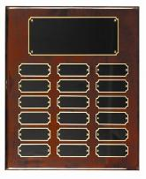 rose perpetual recognition  corporate award plaques