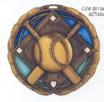 cem youth baseball medal