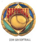 cem youth softball medal