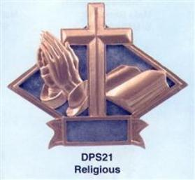 diamond religious plaque