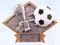 diamond youth soccer trophy