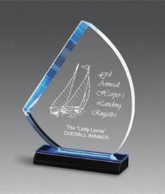reflection sail acrylic award