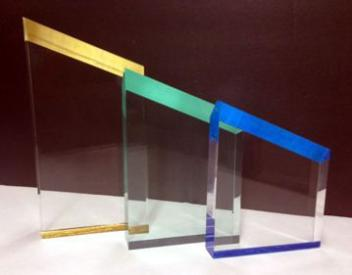 slant bevel acrylic awards