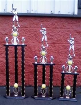 girl fastpitch tournament trophies