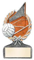 volleyball trophy award plaque