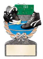 wrestling trophies acrylic awards